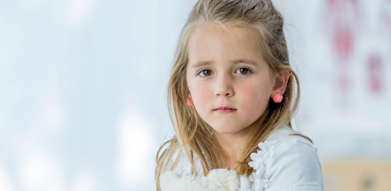 Portret van een jong meisje